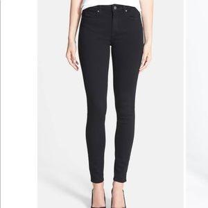 Paige Hoxton High Waist Ultra Skinny Stretch Jeans